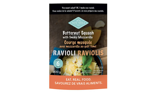 Ravioli - Butternut Squash with Smokey Mozzarella (Frozen)- Code#: DN0577