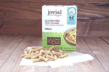 Organic Brown Rice Fusilli- Code#: DN1302