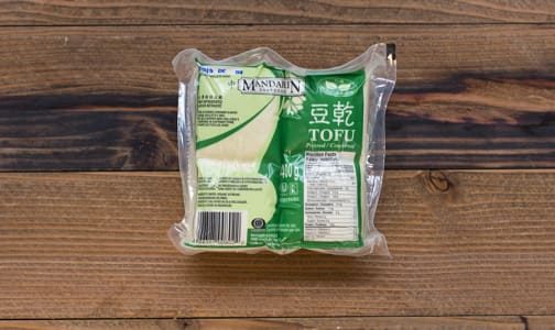 Organic Pressed Tofu, Firm- Code#: DN134
