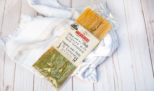 Linguine with pesto genovese- Code#: DN1477