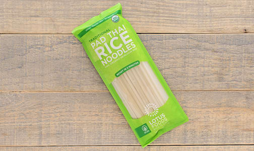 Organic Traditional Pad Thai Rice Noodles- Code#: DN273