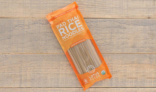 Organic Brown Pad Thai Rice Noodles- Code#: DN275