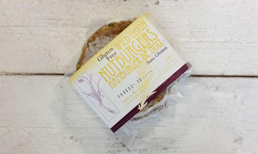 Gluten Free Wild Onion Nutburgers (Frozen)- Code#: DN3009