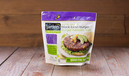 Chipotle Black Bean Burgers (Frozen)- Code#: DN309