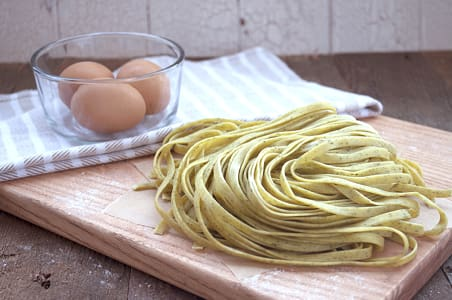 Garlic Parsley Fettuccine- Code#: DN348