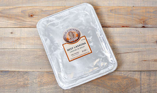 Meat Lasagna (made with Certified Organic Beef) (Frozen)- Code#: DN3603