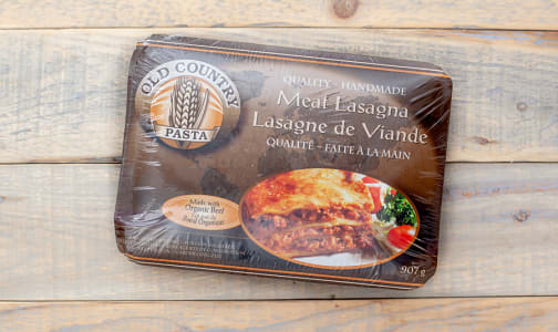 Meat Lasagna (made with Certified Organic Beef) (Frozen)- Code#: DN3604
