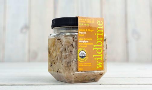 Organic Arame & Ginger Sauerkraut- Code#: DN640