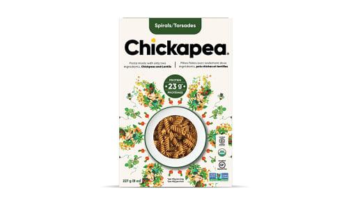 Organic Chickpea & Lentil Spirals- Code#: DN652