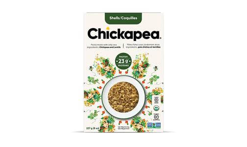 Organic Chickpea & Lentil Shells- Code#: DN653