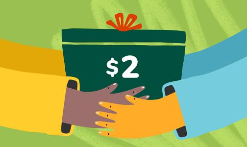 Donation - $2 Donation to Ocean Ambassadors- Code#: DONPLA2