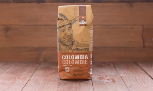 Organic Colombia Dark Roast Whole Bean coffee- Code#: DR0060
