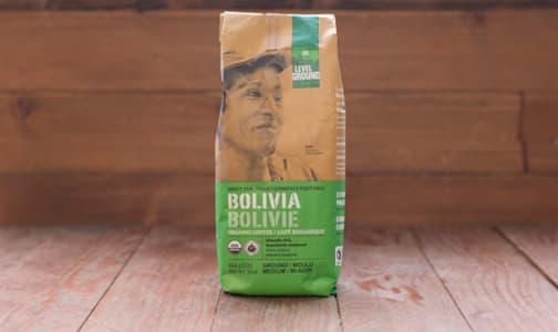 Organic Bolivia Medium Roast Whole Bean Coffee- Code#: DR0064