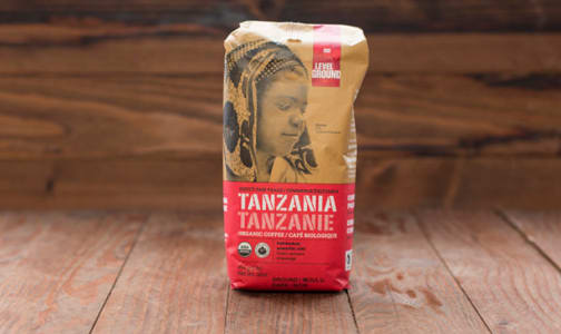 Organic Tanzania Dark Roast Whole Bean Coffee- Code#: DR0068