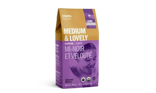 Organic Ethiopia Ground Medium Roast Coffee- Code#: DR0070