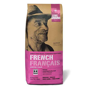 Organic French Roast, Ground- Code#: DR0076