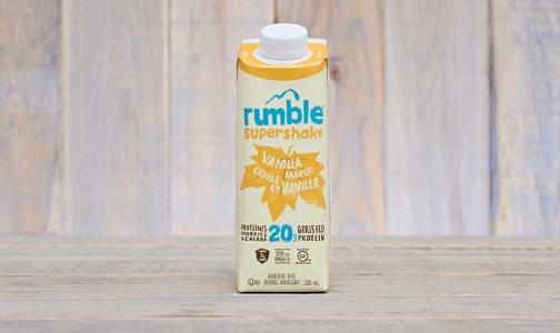 Vanilla Maple Supershake - Gluten Free!- Code#: DR0214