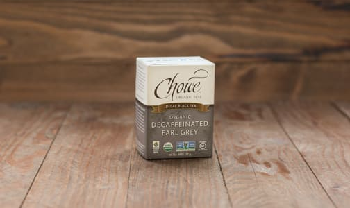 Organic Decaffeinated Earl Grey Tea- Code#: DR0276