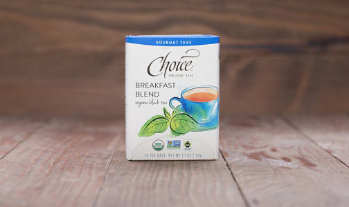 Organic Breakfast Blend Tea- Code#: DR210