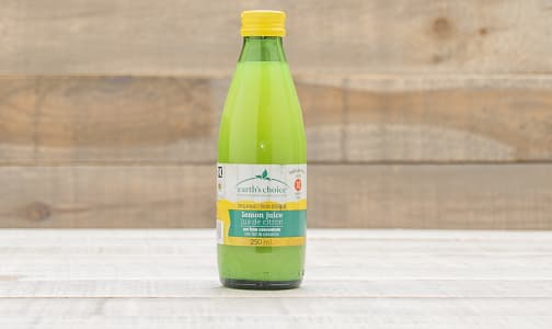 Organic Lemon Juice- Code#: DR0281
