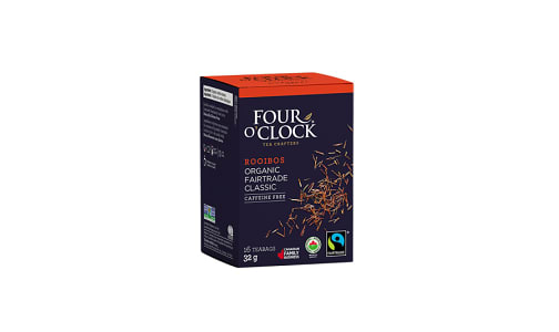 Organic Rooibos Herbal Tea- Code#: DR0331