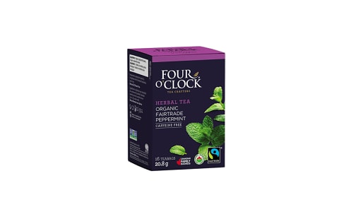 Organic Peppermint Herbal Tea- Code#: DR0333
