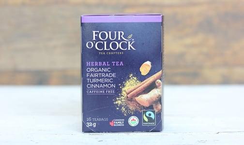 Organic Turmeric Cinnamon Tea- Code#: DR0335