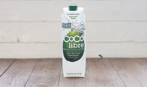 Organic Coconut Water- Code#: DR0406
