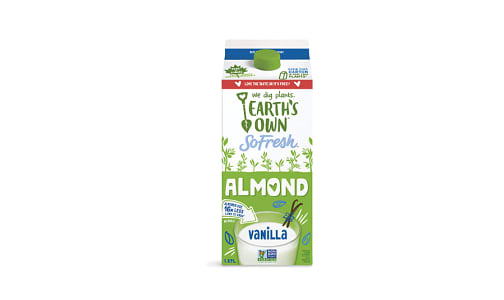 Fresh Almond Milk - Vanilla- Code#: DR040
