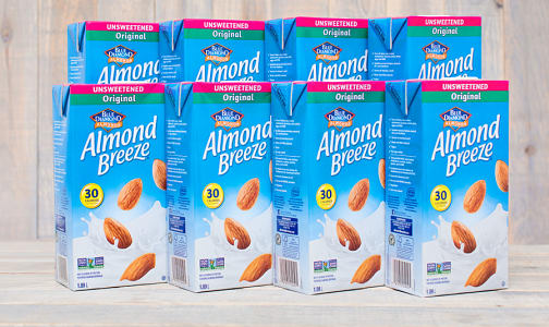 Almond Breeze - Unsweetened - CASE- Code#: DR046-CS