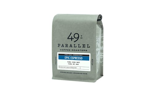 Epic Espresso - Whole Bean- Code#: DR0488