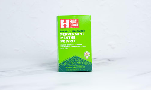 Organic Peppermint Tea- Code#: DR0509