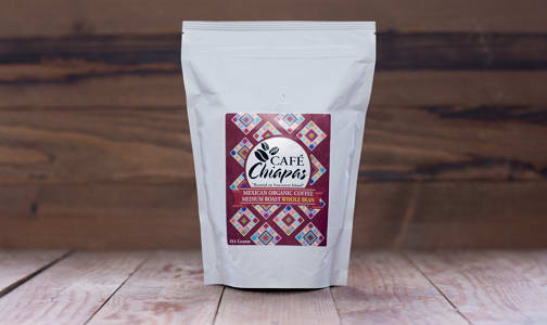 Organic Mexican Chiapas Grand Reserve - Medium Roast Coffee - Whole Bean- Code#: DR0520