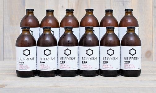 Organic Kombucha, Hibiscus Lemonade - CASE- Code#: DR0587-CS
