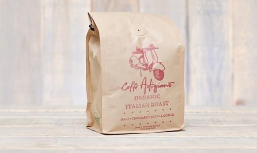 Café Artigiano - Organic Italian Roast - Whole Bean- Code#: DR0629