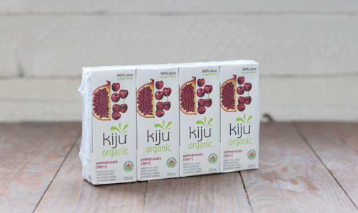 Organic Pomegranate Cherry Juice Boxes- Code#: DR0651