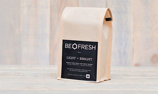 Organic Light & Bright Coffee- Code#: DR0657