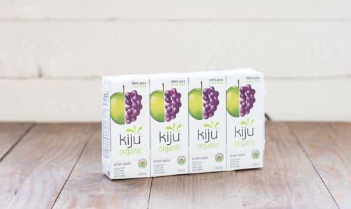 Organic Grape & Apple Juice Boxes- Code#: DR066