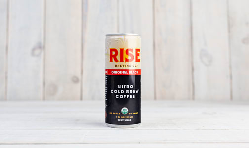 Organic Nitro Cold Brew Coffee - Black- Code#: DR0679