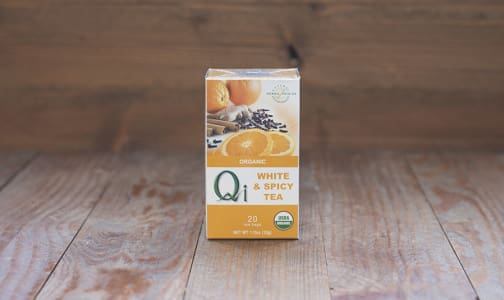 Organic White & Spicy Tea- Code#: DR072