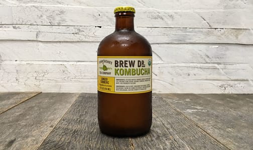 Organic Ginger Turmeric Kombucha- Code#: DR0774