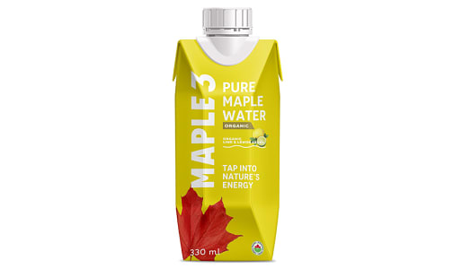 Organic Lemon Lime Pure Maple Water- Code#: DR0859