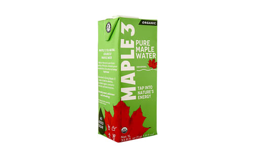 Organic Pure Maple Water- Code#: DR0860