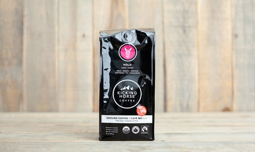 Organic Hola Ground Coffee- Code#: DR0886