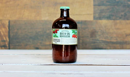 Organic Strawberry Basil Kombucha- Code#: DR0913