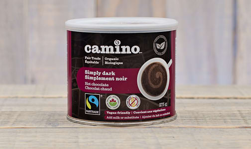 Organic Simply Dark Hot Chocolate Mix- Code#: DR095