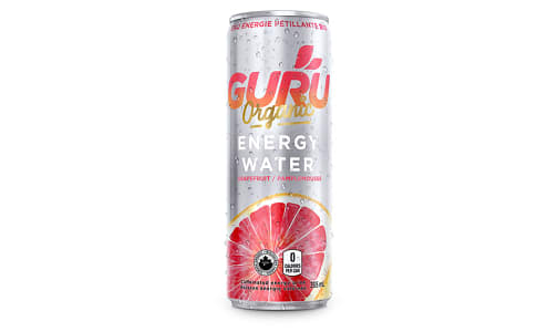 Organic Red Grapefruit Energy Water- Code#: DR1001