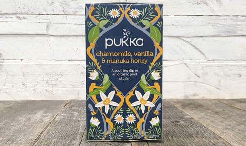 Organic Pukka Tea Chamomile, Vanilla, & Manuka Honey- Code#: DR1026