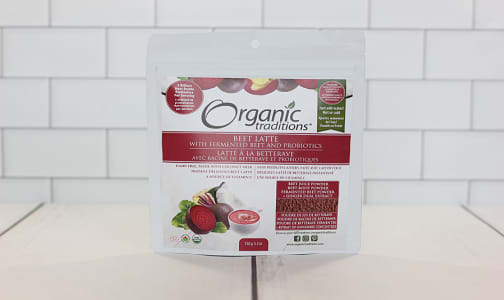 Organic Beet Latte with Probiotics- Code#: DR1034