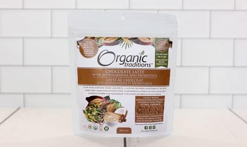 Organic Chocolate Latte with Ashwagandha and Probiotics- Code#: DR1035
